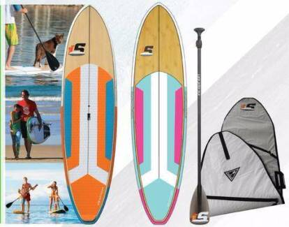 Inception - SUP Package (Board, Bag, Paddle, Legrope & Fins)
