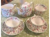 "Vintage Minton -Haddon Hall - ""Tea For Two"" - Rare find"
