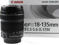 brand new canon EF S 18 135 IS STM zoom lens