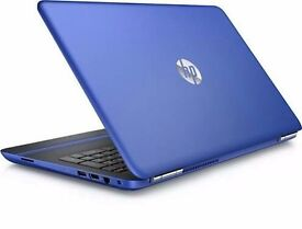 HP notebook with case