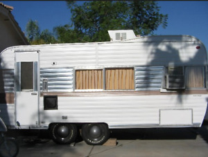 *Looking for a Old Camper Trailer*
