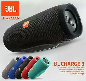 JBL Charge 3 Waterproof Bluetooth speaker on SALE in store!