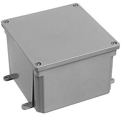 Carlon E989n-car Electrical Pvc Junction Box, 8 X 8 X 4-in. - Quantity 1