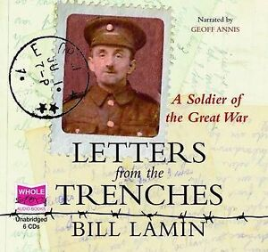 Letters from the Trenches (unabridged audiobook), Bill Lamin, Very Good, Audio C