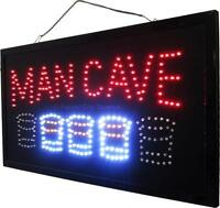 MAN CAVE SIGNS - Great for Rec Rooms - Patios !!