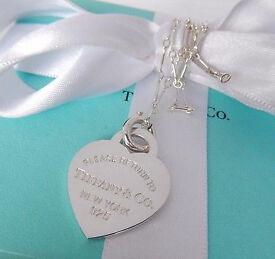 Tiffany heart pendant