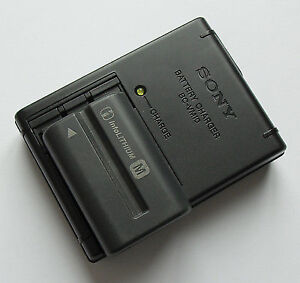 Sony BC-VM10 Battery Charger and Battery