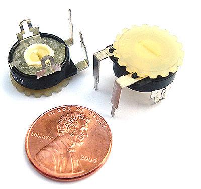 20k Ohm Trimmer Potentiometer Thumbwheel Trim Pot 20