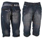 Mens Denim Shorts