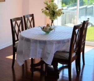 Moving sale -- Dinning table set (5 pieces)