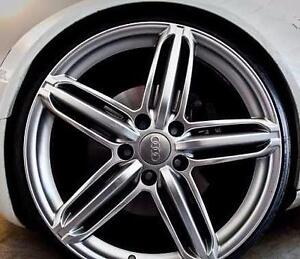 5x112 RIMS AUDI S LINE REPLICA 18'' Brand New; 1 Year Warranty; N.87