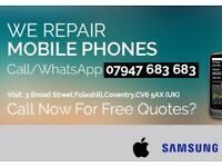 Coventry Phone Repair Call For Free Quotes