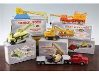 wanted corgi toys and dinky toys in any condition