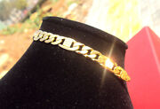 Mens 14k Solid Gold Bracelet