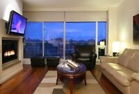 Executive Furnished Condo - 2 Bed plus Den