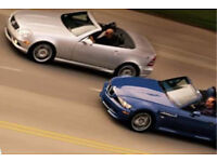 WANTED summer toy convertible 2 seater BMW Z3 or MERC SLK AUDI TT roadster? Car