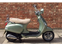 Vespa LXV 125 Immaculate condition with only 5519 miles!