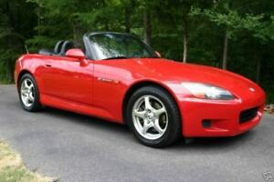 A well kept Honda S2000