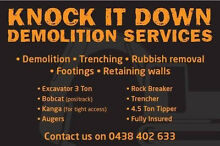 Demolition services Broadmeadow Newcastle Area Preview