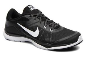 Nike Black and White Flex Trainer Running Shoes. BRAND NEW