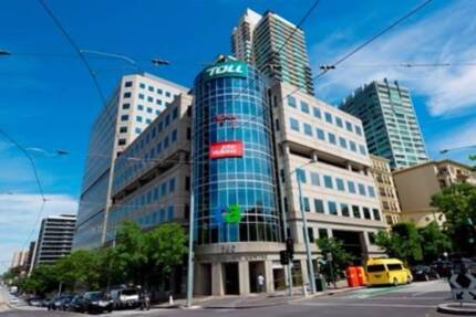 Fully furnished private office for 3 people on St Kilda Road
