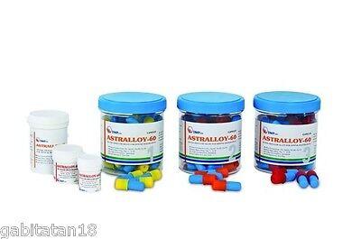 Dental Amalgam Astralloy 60 Reg 50 Caps Spill 400 Mg 60 Silver By Dmp