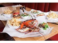 Commis Chef & Chef De Partie - Burger & Lobster Oxford Circus