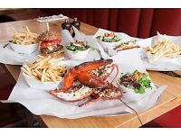 Commis Chef ~& Chef De Partie - Burger & Lobster Bath
