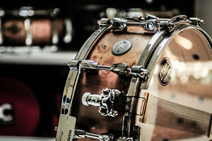 Neuf/new Tama snare drum, tom, vintage Zildjian cymbals, etc.