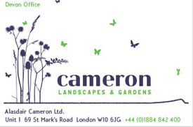Horticulturist/Landscape Gardening Assistant