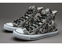 BNIB UK Size 5: Converse Chuck Taylor All Star - Mixed Animal (Parchment)
