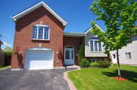 Beautiful home for rent vaudreuil. furn. unfurnished. basement