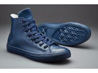 All star converse rubber range blue