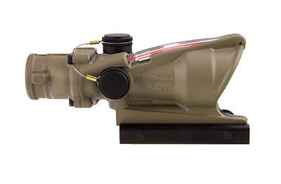 Trijicon ACOG 4x32 Red Chevron FDE TA31-D-100310