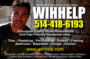WIHHELP Affordable West Island Home Renos And Maintenance