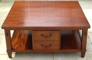 Solid  timber coffee table Haberfield Ashfield Area Preview