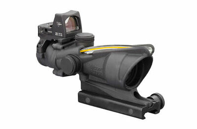 Trijicon ACOG 4x32 Scope, Dual Illuminated Amber Crosshair 3.25MOA TA31-C-100551