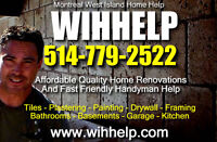 WIHHELP Affordable Home Renovations And Handyman Services