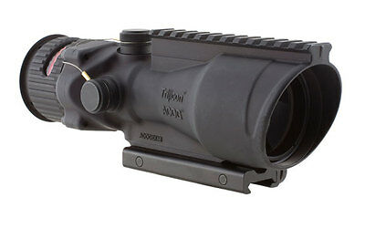 Trijicon TA648 ACOG 6x48 Scope Illuminated Red Chevron .223 TA75 Mount M1913