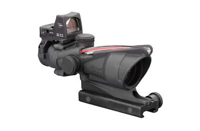 Trijicon 4x32 ACOG Dual Illum Red Chevron .223 Reticle w/RMR Type 2 3.25 MOA
