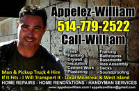 HandyMan Tools & Pickup Truck 4 Hire : Small Moves & Transport