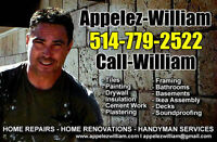 CallWilliam - Handyman & Renovations - Interior Finishing