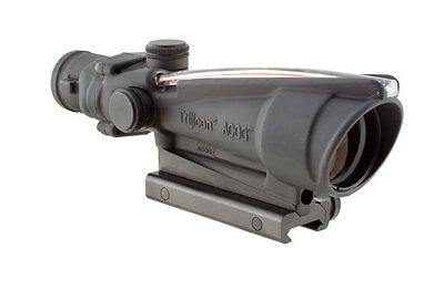 Trijicon TA11H ACOG 3.5x35 Scope Dual Illuminated Red Horseshoe .223 TA51 Mount