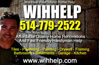 WIHHelp West Island Home Help - Renovations & Handyman Services