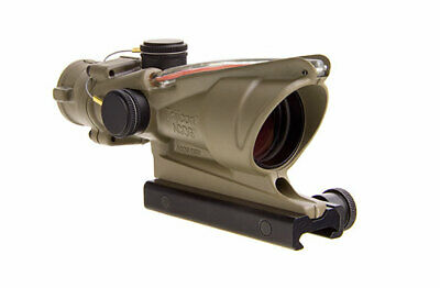 Trijicon ACOG 4x32 Scope, Dual Illuminated Red Crosshair w/ Mount TA31-C-100372