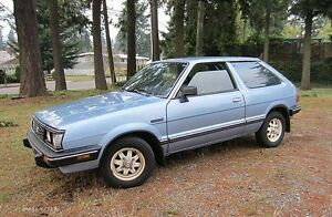 1987 Subaru Other Coupe (2 door)82-87