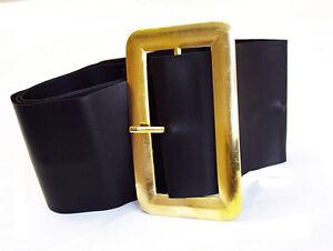 LARGE-BLACK-PIRATE-BELT-SANTA-BELT-FANCY-DRESS