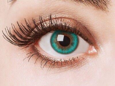 aricona grüne farbige Kontaktlinsen bunte farbig intensive Jahreslinsen deckend (Bunte Kontaktlinsen)