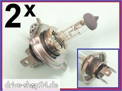 2x H4 Glühlampe 12V 35/35W PX43T HS1 Halogenlampe Motorradlampe Birne Lampe