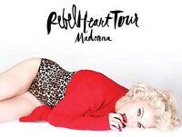 Madonna billets (Rouge) ****PRIX COÛTANT****